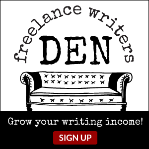 The Freelance Writers Den: Enter Here