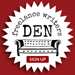 The Freelance Writers Den: Sign Up