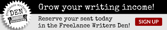The Freelance Writers Den: Grow your income!