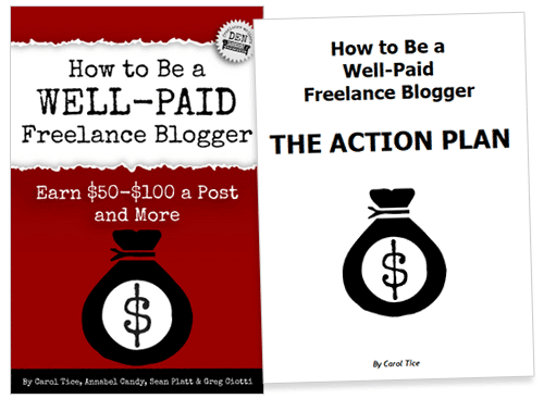 How to Be a Well-Paid Freelance Blogger action plan