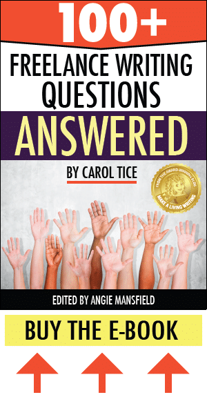 Get paid more money for your writing! 100+ Freelance Writing Questions ANSWERED - the eBook