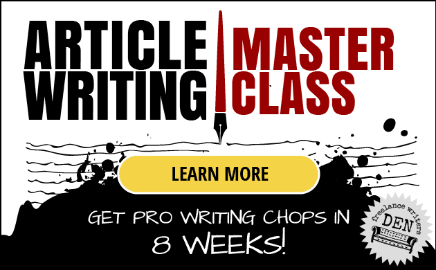 Get Pro Writing Chops in 8 Weeks - Article Writing Masterclass